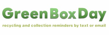 GreenBoxDay Recycling Collection Reminder Service